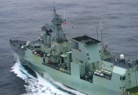海军第4艘南森级护卫舰F 313号下水 组图