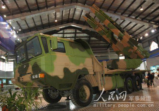 由中国自主研制的一批精确制导武器系统集中