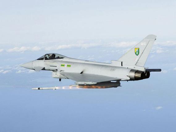 """""""台风""""欧洲战斗机 EF2000 Typhoon"""