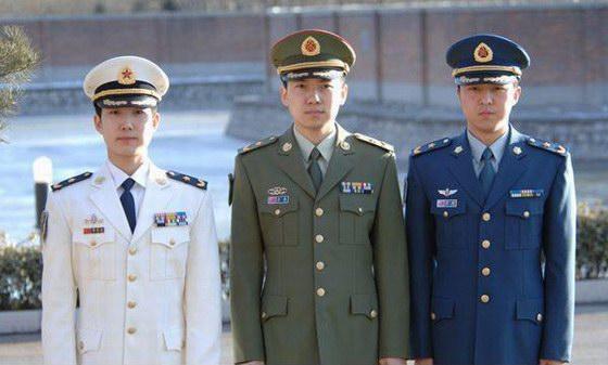 07式军服陆海空三军士官装-07式军服有哪些新特点图片