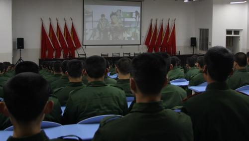 武警固原支队注重新兵政治教育丰富警营多彩文体生活图片