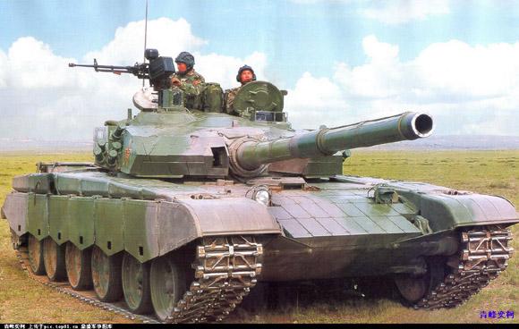 简氏揭秘解放军新型99A2主战坦克 6