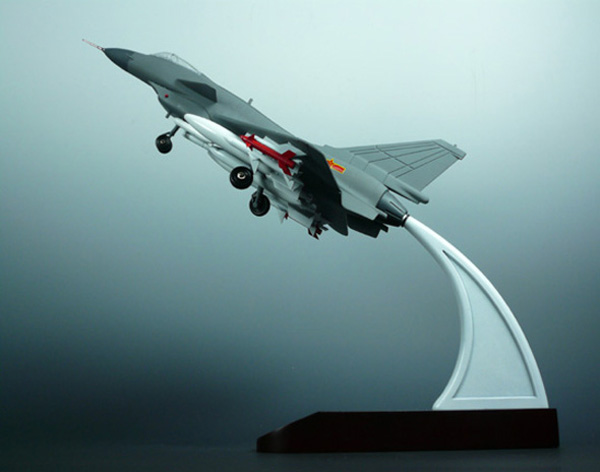 飞机模型; 歼十; 歼十飞机模型
