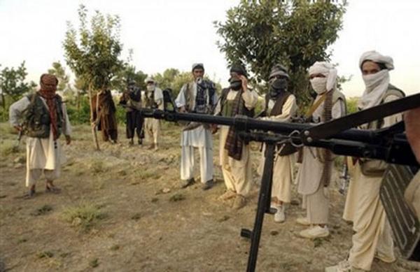 资料图:阿富汗塔利班武装