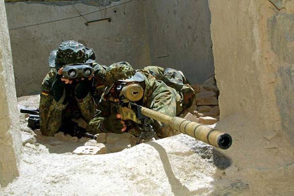 德国ksk特种部队狙击手都用什麽枪?