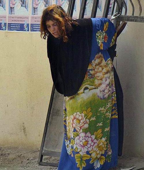 伊拉克15岁少女内衣中绑炸弹被示众