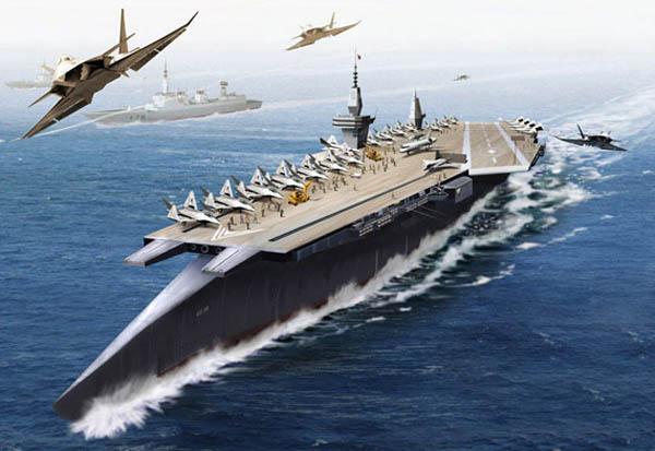 中国可以在海洋上使用核武器击沉美国航母舰队 -  红杏 - 红杏