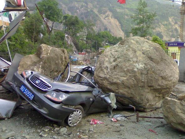 国家地震灾害紧急救援队汶川救援 (4)