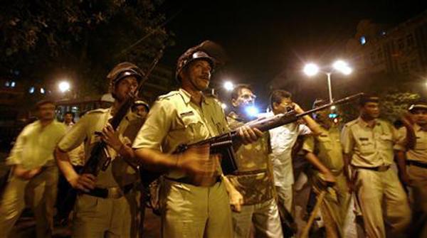印度孟买/资料图:印度孟买发生恐怖袭击
