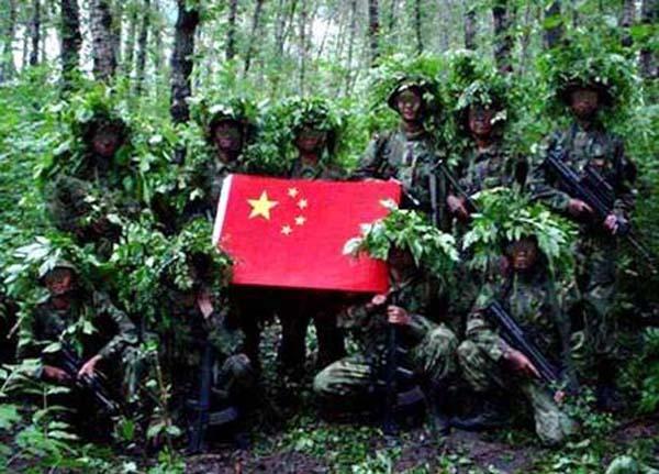 中国反恐部队深入印度腹地 (9)