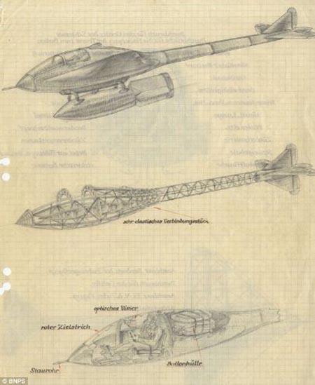 简单又好看的飞机草图