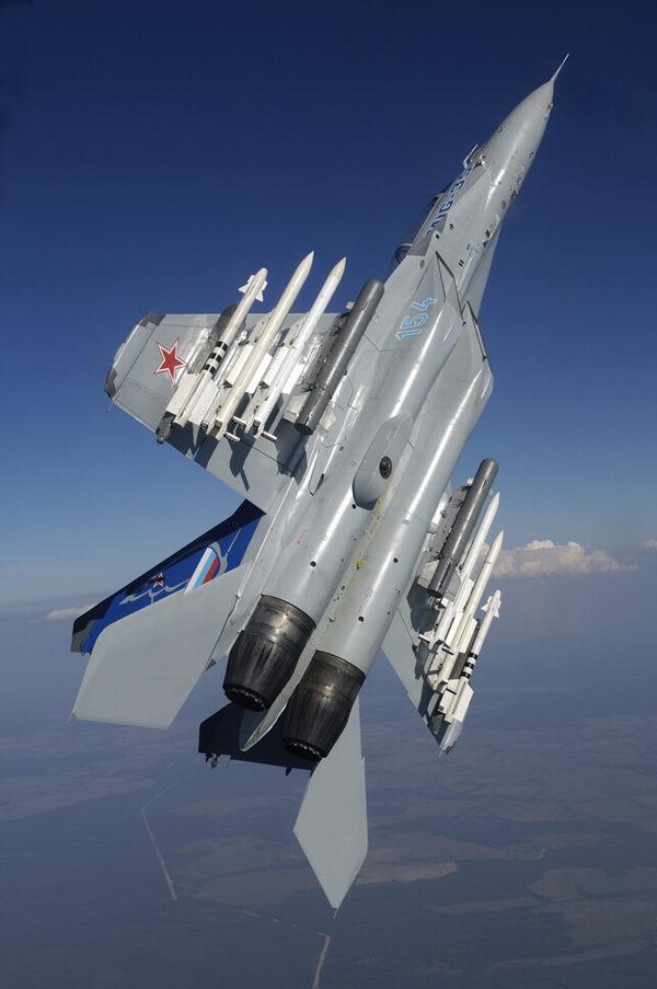 米格-35型战斗机武器挂架增加到10个