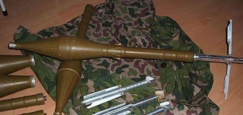 69式40毫米火箭筒用助推火箭弹-69 1式40mm反坦克火箭筒