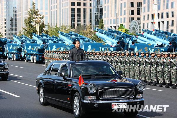 胡锦涛签署通令 嘉奖国庆受阅部队全体指战员