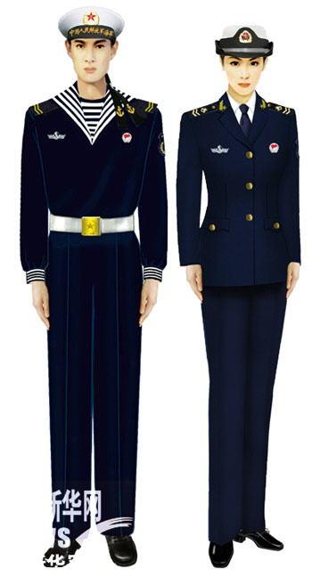 07式军服海军士兵(藏青)-受权发布 军服标准图样 常服 7图片
