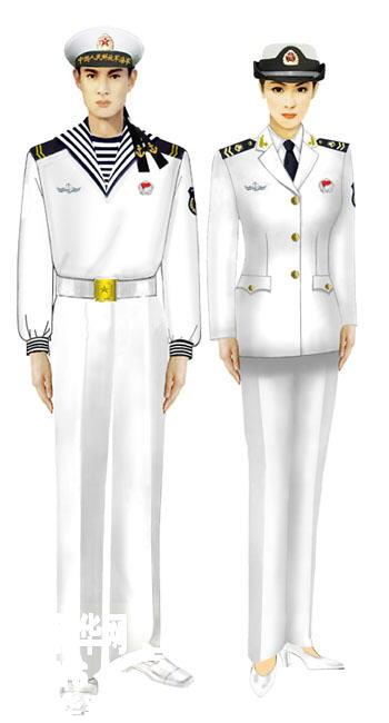 受权发布 军服标准图样 常服 8图片