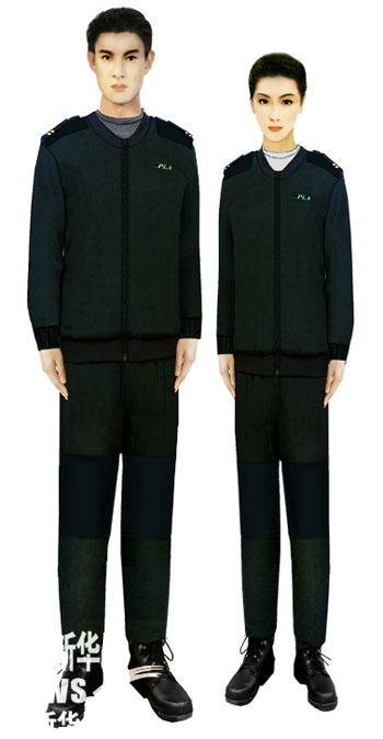 07式军服绒衣(陆军)-受权发布 军服标准图样 绒衣 棉衣图片