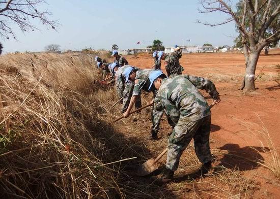 中国工兵   2009-赴苏丹 维和 - foxer - .