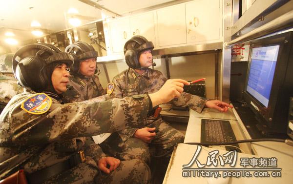 """:""""铁拳-2009""""军演火力战即将打响"""