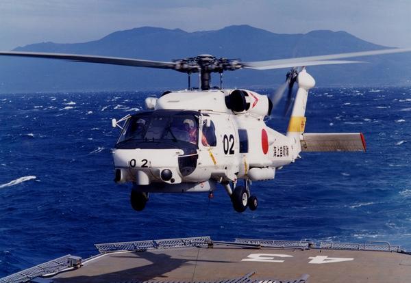 日本海上自卫队一直升机紧急迫降2人失踪