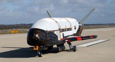 美国无人太空战机首航 - 沧海一粟 -              沧 海 一 粟