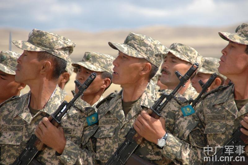 国外野战营房哈萨克斯坦国旗-国外野战营房图片