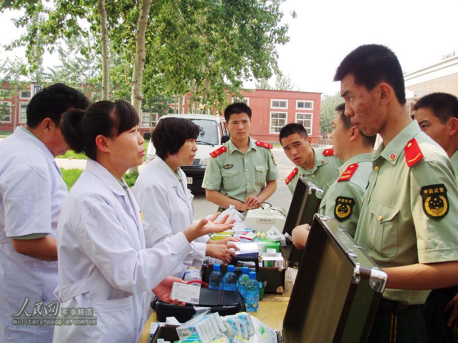 武警北京总队医院提升为兵服务质量纪实