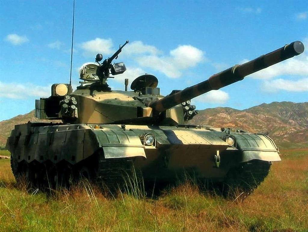 中国99式坦克图片_中国99式主战坦克