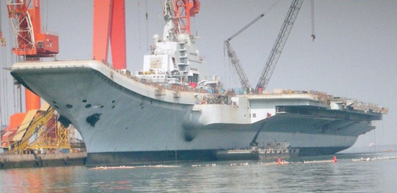 组图:中国巨舰即将出航 圆我70年航母梦