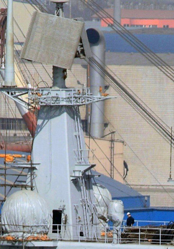 组图:中国巨舰即将出航 圆我70年航母梦(6)