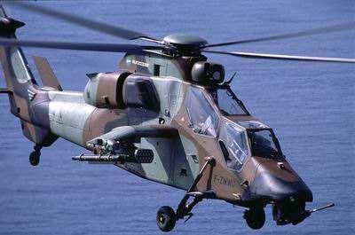 """法军""""虎""""式直升机将配备新反坦克导弹比同类型轻20%"""