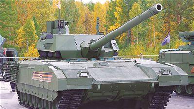 """俄""""阿玛塔""""主战坦克首次亮相国外"""