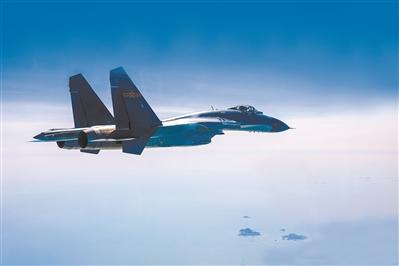空军航空兵某团组织实战化飞行训练
