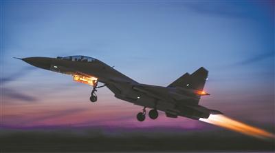 空军航空兵某团开展实战化训练